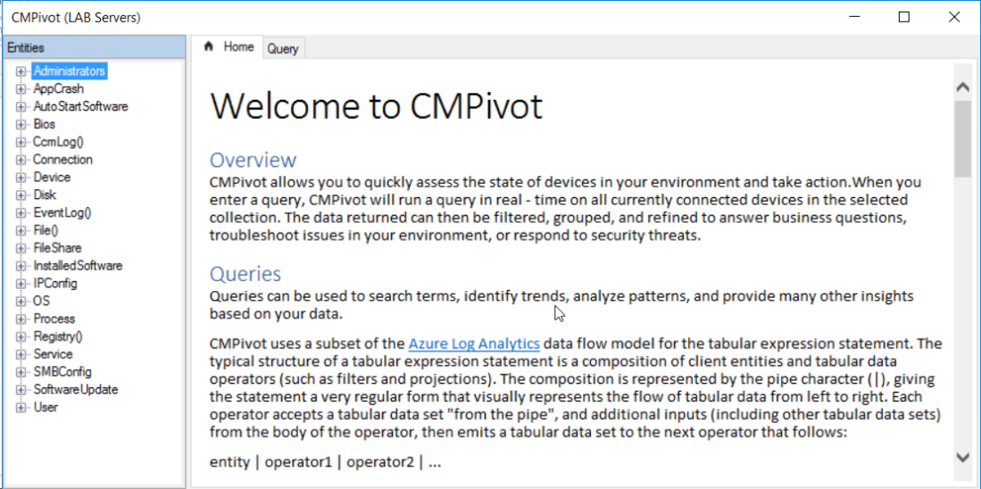 Using SCCM CMPivot – TheSleepyAdmins