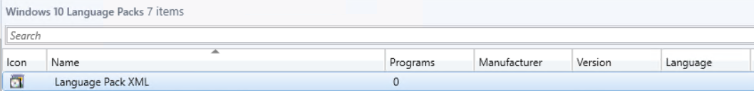 SCCM Task Sequence Windows 10 Language Pack's Install – TheSleepyAdmins