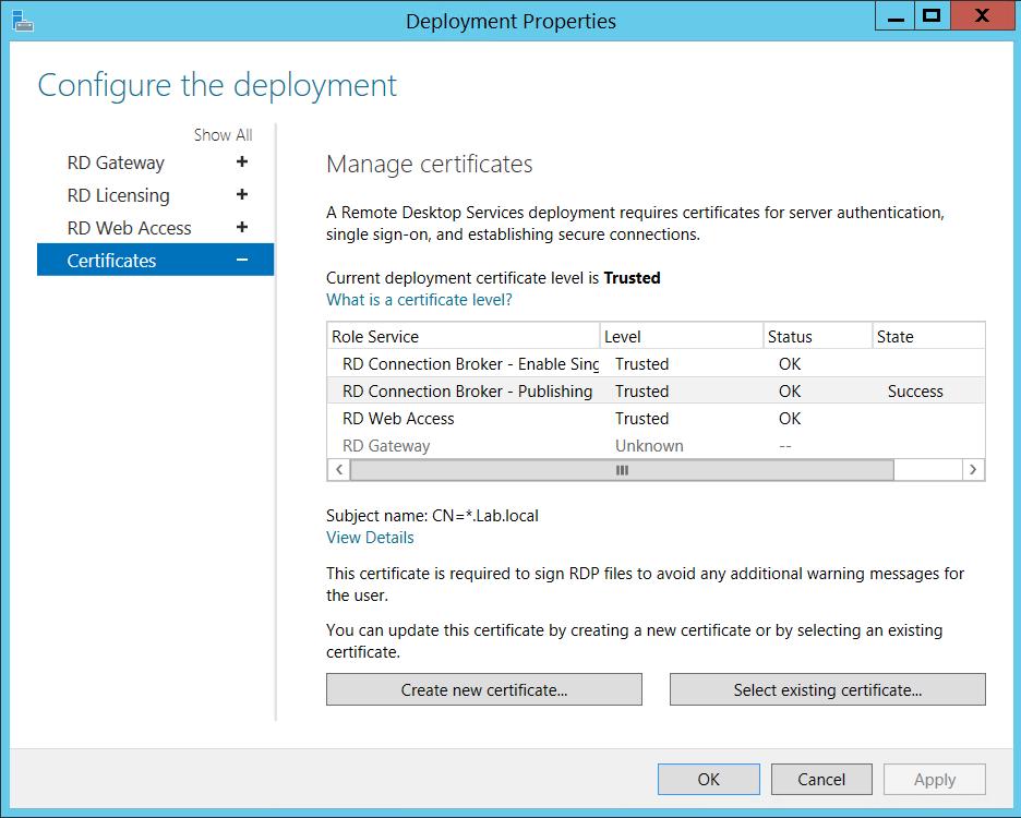 Remote Desktop Services 2012 R2 Deployment Part 1 Thesleepyadmins