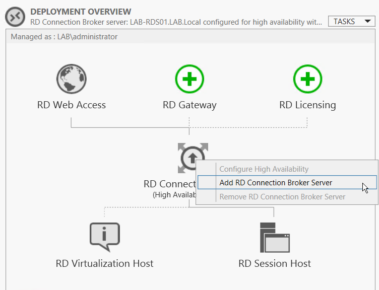 rdp - 2012 R2 RDS Farm with Connection Broker - Server Fault